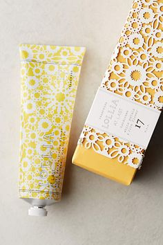 Inspired by this delicate Lollia hand cream packaging! Cosmetic Packaging, Beauty Packaging, Brand Packaging, Skincare Packaging, Product Packaging Design, Seed Packaging, Packaging Ideas, Geometric Patterns, Makeup Package