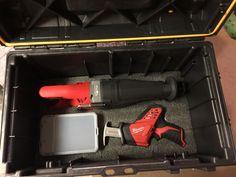 Kaizen foam in DeWalt Tough System mobil storage box 2/2