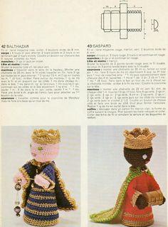 Crochet y Bebê: Presepio em crochet!