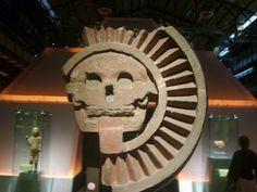 Man Made - aztec death god Wallpaper