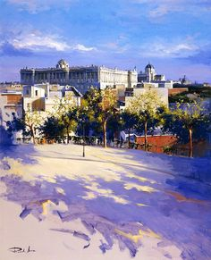 """Photo from album """"Рикардо Санц (Ricardo Sanz)"""" on Yandex. John Singer Sargent, Cool Paintings, Beautiful Paintings, Spanish Royal Family, Shadow Art, Spanish Artists, Z Arts, Balearic Islands, Pretty Pictures"""