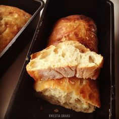 Pyszny chleb z grubą i chrupiącą skórką. Bez wyrabiania ciasta