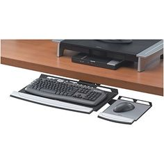 Fellowes Office Suites Adjustable Keyboard Tray (8031301)…