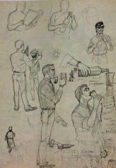 Hergé,étude de personnages
