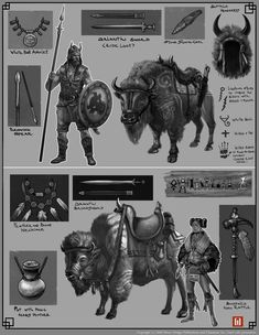 Roman Kisyov - NsØ - Glorantha - Cultural Sketches