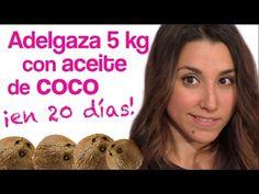 Aceite de coco (para adelgazar) - YouTube