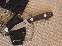Tom Krein neck knife (EDC)
