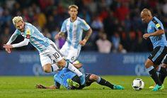 Argentina es líder de las eliminatorias con 14 puntos, uno más que Uruguay, Colombia y Ecuador. Por lesión Messi es baja para el partido ante Venezuela. Sep 03, 2016