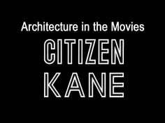 Citizen Kane was released in 1941. The film was produced and directed by Orson Welles and written by both Welles and Herman Mankiewicz. The film is widely ac...