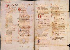 Fragmento de una cantiga de amigo; en la página se muestran sus partes, traducción y ejemplos de jarchas traducidas también.