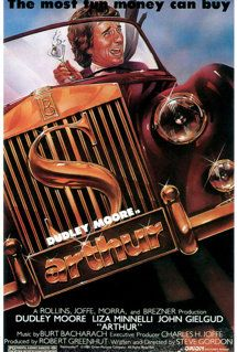 Arthur The most fun money can buy, original American movie poster from 1981 by Bob Gleason. Love Movie, I Movie, Light Camera, Play Tennis, Original Movie Posters, Funny Movies, Executive Producer, Vintage Movies, Jukebox
