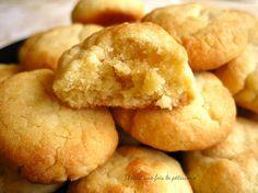 Biscuits moelleux pour employer les jaunes d'oeufs