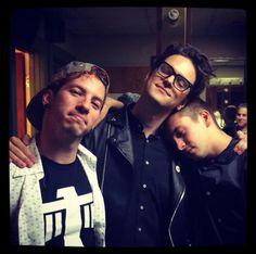 Tyler, Josh, and Dallon