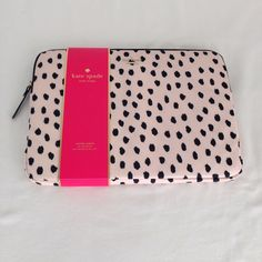 Kate Spade Renny Drive Laptop Sleeve for MacBook and Pro 13 inch MSRP $60 | eBay