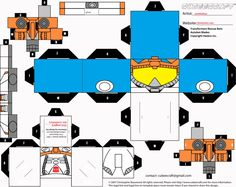 Rescue BOTS Blades Cubee template by ~lovefistfury on deviantART