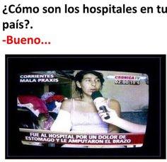 Cómo son los hospitales en tu país? :V