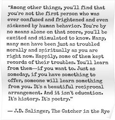 Catcher in the Rye Quote Posters