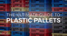 It can often be tricky selecting the correct plastic pallets for your business. There are so many different factors to take into account which is why Plastic Pallets in the UK have produced thisgreat in-depth guide to plastic pallets.