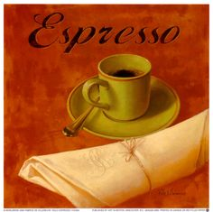 Solo Espresso Art Print | Item #: 12347888A   Print no longer available