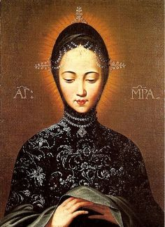 Gnadenbild Maria  The miraculous image of Mary venerated in the basilica of St Matthias (Matthew) in Trier, Germany.