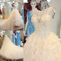 Wedding dress 2016 spring and summer new ultra flash sexy bandage dress Korean Korean bride trailing xj69632- Taobao global Station