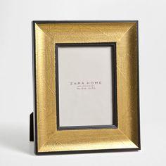 Textured leaves frame - Frames - Decoration   Zara Home Sweden 129kr
