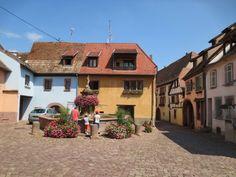 Gueberschwihr et sa fontaine aux poissons