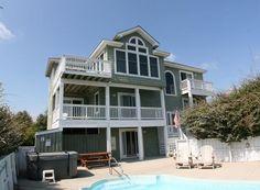 Semi-Oceanfront Outer Banks Rentals | Ocean Sands Rentals | Seashell