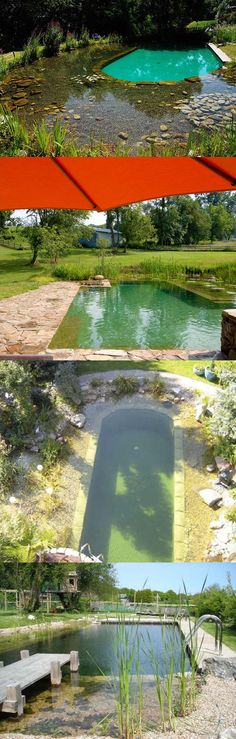 natural pool - Pinterest pic picks by RetoxMagazine.com