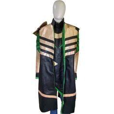 Tom Hiddleston The Avengers Loki Cosplay Costume Long Coat