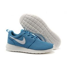 buy online 79693 421b4 Women Nike Roshe One Shoes Blue White Buy Nike Shoes, Cheap Nike Running  Shoes,