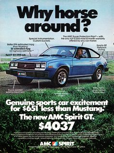 1979 AMC Spirit GT | Alden Jewell | Flickr