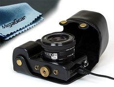 MegaGear Leder Kameratasche für Spiegelreflexkamera Sony Alpha A6000 mit 16-50mm Objektiv (Schwarz) MegaGear http://www.amazon.de/dp/B00KIQIT0O/ref=cm_sw_r_pi_dp_yUr.vb1N7KB98