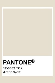 PANTONE 12-0602 TCX Arctic Wolf Pantone Swatches, Color Swatches, Color Psychology Test, Tuscan Art, Psychology Experiments, Aesthetic Colors, Grey And Beige, Color Of The Year, Pantone Color