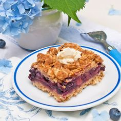 Blueberry bars-yum: http://www.kitchenlane.com/2012/07/today-officially-kicks-blueberry-month.html