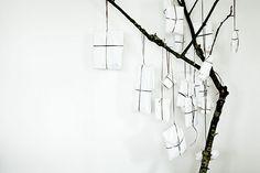 Daniella Witte | i love the idea of black & white packets