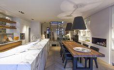 Kitchen design by Studio Jan des Bouvrie. #kitchen #design #interiordesign #jandesbouvrie #marble