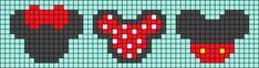 Alpha friendship bracelet pattern added by LMckeown. Bead Loom Patterns, Perler Patterns, Beading Patterns, Cross Stitch Patterns, Beaded Cross Stitch, Peyote Stitch, Cross Stitch Embroidery, Pixel Art, Art Perle