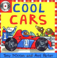 From luxury limousines to speedy sports cars, a wide variety of automobiles are featured -- all driven by kooky animal characters. Lively rhyming text by the award-winning poet Tony Mitton perfectly complements Ant Parker's bold, bright illustrations. A picture dictionary identifying car parts builds vocabulary and makes learning about cars even more fun.