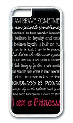 iPhone 6 Case (4.7 inch) I Am Brave Sometimes, I Am Scared Sometimes Phone Case Custom Transparent Polycarbonate Hard Case For Apple iPhone 6 (4.7 inch) Phone Case Custom http://www.amazon.com/dp/B014S9Q6PQ/ref=cm_sw_r_pi_dp_0fVkwb044AC84