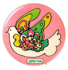 Rare Peter Max button