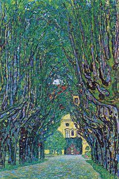 Way to the Park, by Gustav Klimt