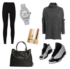"""Untitled #17"" by izzie-phillips on Polyvore featuring NIKE, Prada and Rolex"