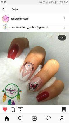 Autumn Nails, Manicure, Videos, Beauty, Butterflies, Fingernail Designs, Display, Backgrounds, Deco