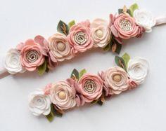BENUTZERDEFINIERTE Farbe gemischt Blume Filz von EnchantedBowShop