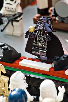 This site has some really cool Lego pics, not all are Star Wars