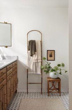 Magnolia Farms, Entryway Bench, Oversized Mirror, Vanity, Contemporary, Bathroom, Interior, Furniture, Home Decor