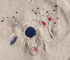 bordados: bordados a mano // handmade emboidery - Varios