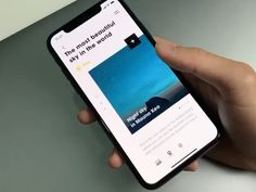 """via Muzli design inspiration. """"UI Interactions of the week is published by Eyal Zuri in Muzli - Design Inspiration. Best Ui Design, App Ui Design, User Interface Design, World Days, Ui Design Inspiration, Travel Information, Beautiful Sky, Show And Tell, Instagram Tips"""