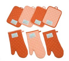 100% Quilted Dyed Cotton. Pot holders and Oven Mittens Personalized with Custom Logo, any color Minimum Order Required. Eugenia Kids Collection - Austin, Texas